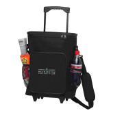30 Can Black Rolling Cooler Bag-Official Mark