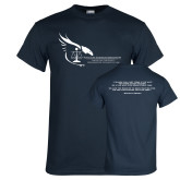 Navy T Shirt-Black Law Students Association