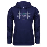 Adidas Climawarm Navy Team Issue Hoodie-Dad
