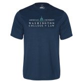 Performance Navy Tee-Official Mark