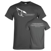 Charcoal T Shirt-Black Law Students Association - Quote