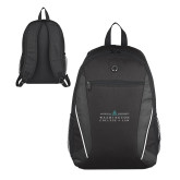 Atlas Black Computer Backpack-Official Mark