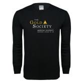 Black Long Sleeve T Shirt-The Gold Society