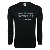 Black Long Sleeve T Shirt-Class of, Personalized