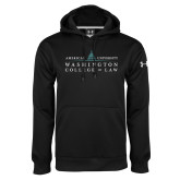 Under Armour Black Performance Sweats Team Hoodie-Official Mark