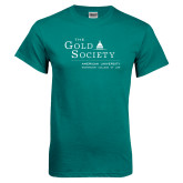 Teal T Shirt-The Gold Society