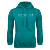 Teal Fleece Hoodie-Founded 1896