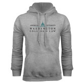 Grey Fleece Hoodie-Official Mark