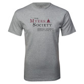 Grey T Shirt-The Myers Society