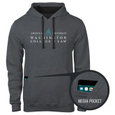 Contemporary Sofspun Charcoal Heather Hoodie-Official Mark
