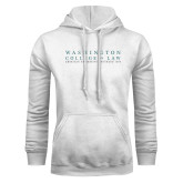 White Fleece Hoodie-Founded 1896