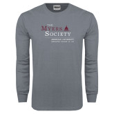 Charcoal Long Sleeve T Shirt-The Myers Society