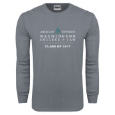 Charcoal Long Sleeve T Shirt-Class of, Personalized