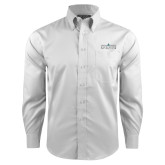 Red House White Long Sleeve Shirt-Official Mark