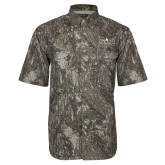 Camo Short Sleeve Performance Fishing Shirt-Official Mark