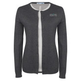 Ladies Charcoal Cardigan-Official Mark
