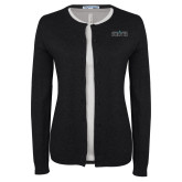 Ladies Black Cardigan-Official Mark