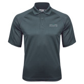 Charcoal Dri Mesh Pro Polo-Official Mark