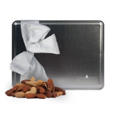 Deluxe Nut Medley Silver Large Tin-Official Mark