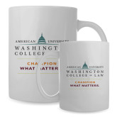Full Color White Mug 15oz-Official Mark w Tagline Stacked