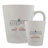 Full Color Latte Mug 12oz-Official Mark w Tagline Stacked