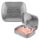 Silver Rectangular Peppermint Tin-Official Mark