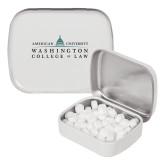 White Rectangular Peppermint Tin-Official Mark