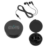 Ear Buds in Black Case-Official Mark