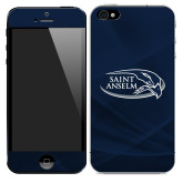 iPhone 5/5s/SE Skin-Athletic Mark Hawk Head