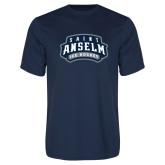 Performance Navy Tee-Ice Hockey