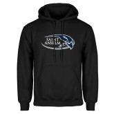 Black Fleece Hoodie-Athletic Mark Hawk Head