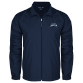 Full Zip Navy Wind Jacket-Saint Anselm Mark