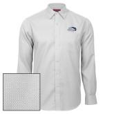 Red House White Diamond Dobby Long Sleeve Shirt-Athletic Mark Hawk Head