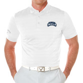 Callaway Opti Vent White Polo-Saint Anselm Mark