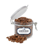 Almond Bliss Small Round Canister-Athletic Mark Hawk Head
