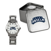 Ladies Stainless Steel Fashion Watch-Saint Anselm Mark
