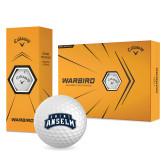 Callaway Warbird Golf Balls 12/pkg-Saint Anselm Mark