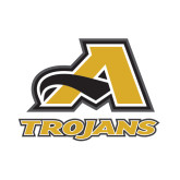 Small Decal-A w/ Trojans, 6 inches tall