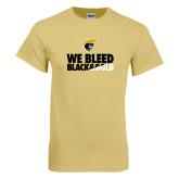 Champion Vegas Gold T Shirt-We Bleed Black & Gold