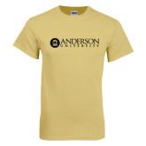 Champion Vegas Gold T Shirt-Anderson University