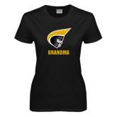 Ladies Black T Shirt-Grandma