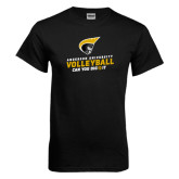 Black T Shirt-Volleyball Can You Dig it