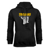 Black Fleece Hoodie-Basketball Hanging Net
