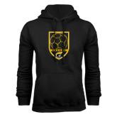 Black Fleece Hoodie-Soccer Shield