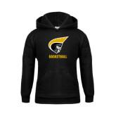 Youth Black Fleece Hoodie-Basketball