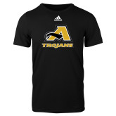 Adidas Black Logo T Shirt-A w/ Trojans