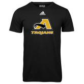 Adidas Climalite Black Ultimate Performance Tee-A w/ Trojans