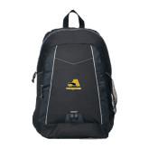 Impulse Black Backpack-A w/ Trojans
