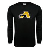 Black Long Sleeve TShirt-A