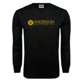 Black Long Sleeve TShirt-Anderson University
